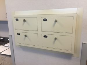 Wall Mounted Pistol Lockers